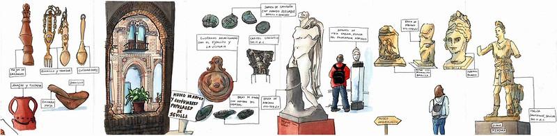 Nos Museus de Sevilha