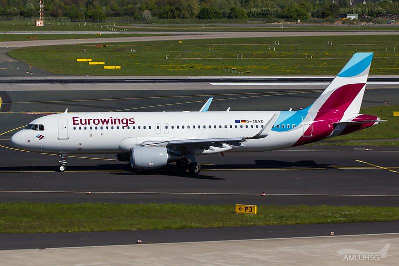 Eurowings - A320 - D-AEWD (1)