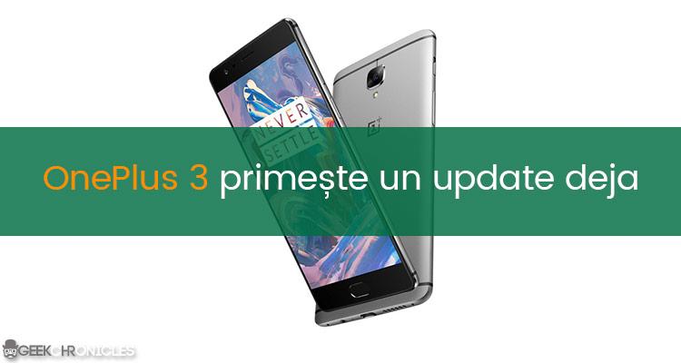 Update OnePlus 3