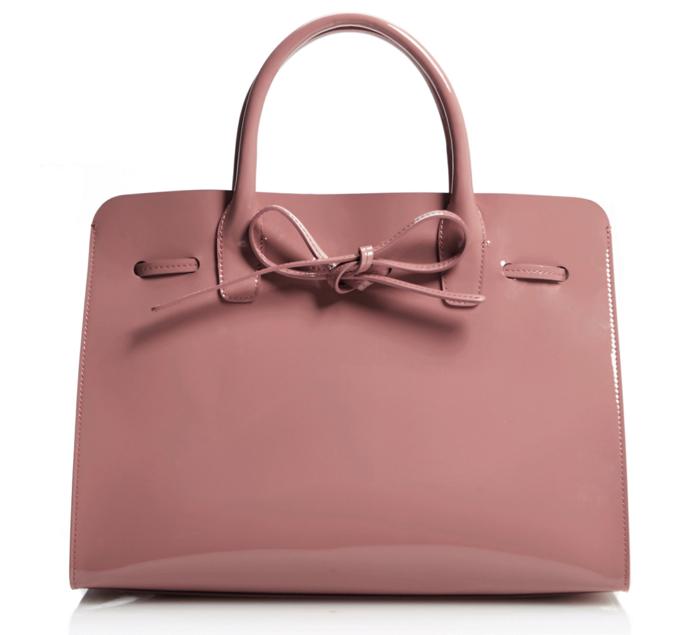 Mansur-Gavriel-Sun-Bag-Pink-Patent