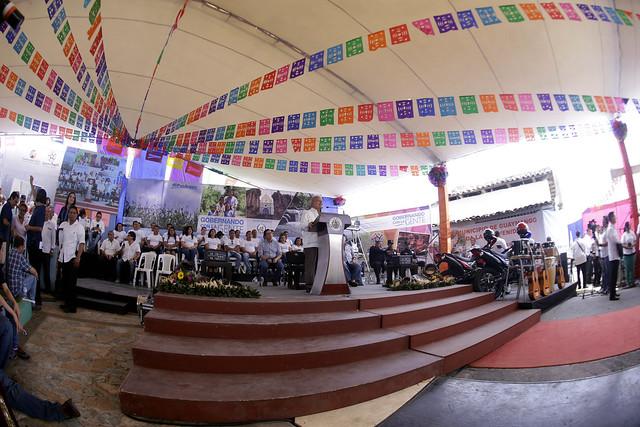Festival para el buen vivir y Gobernando con la gente-Guaymango