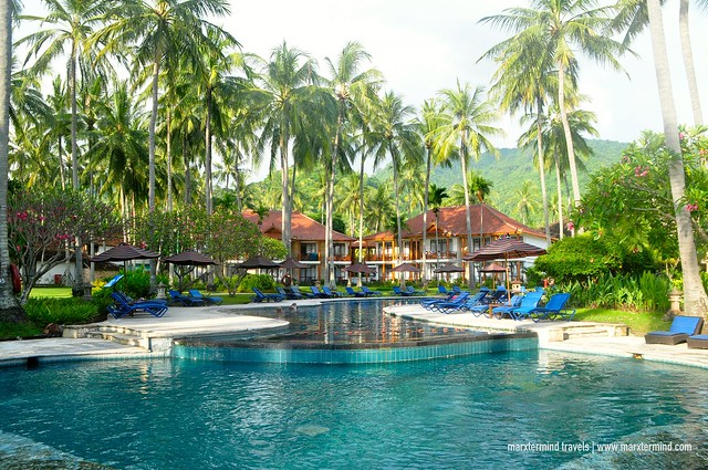 Holiday Resort Lombok Huge Swimming Pool