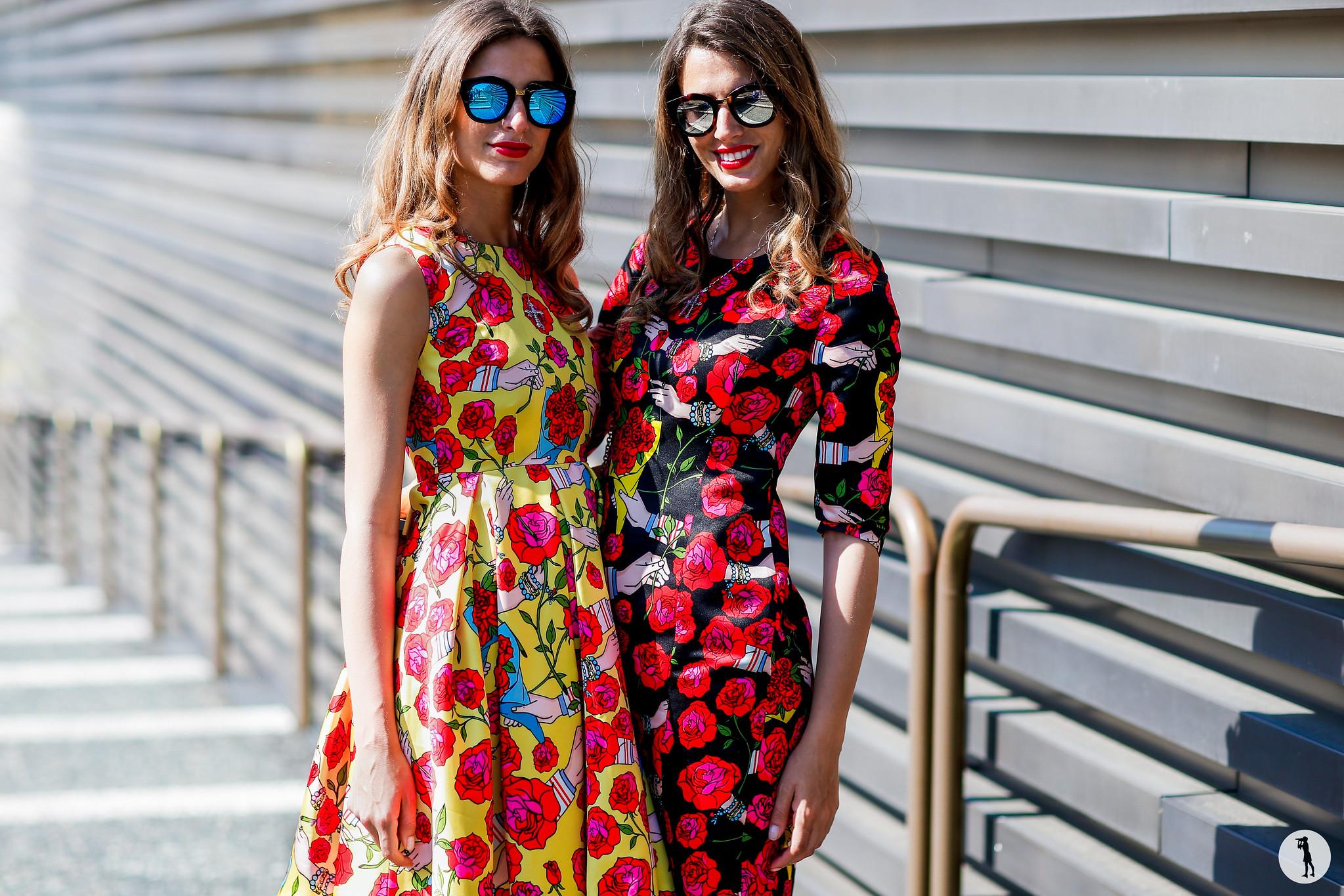 Giulia and Elena Sella - Pitti Uomo 90 (3)