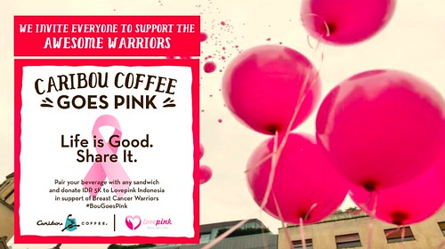 Caribou Coffee Goes Pink4