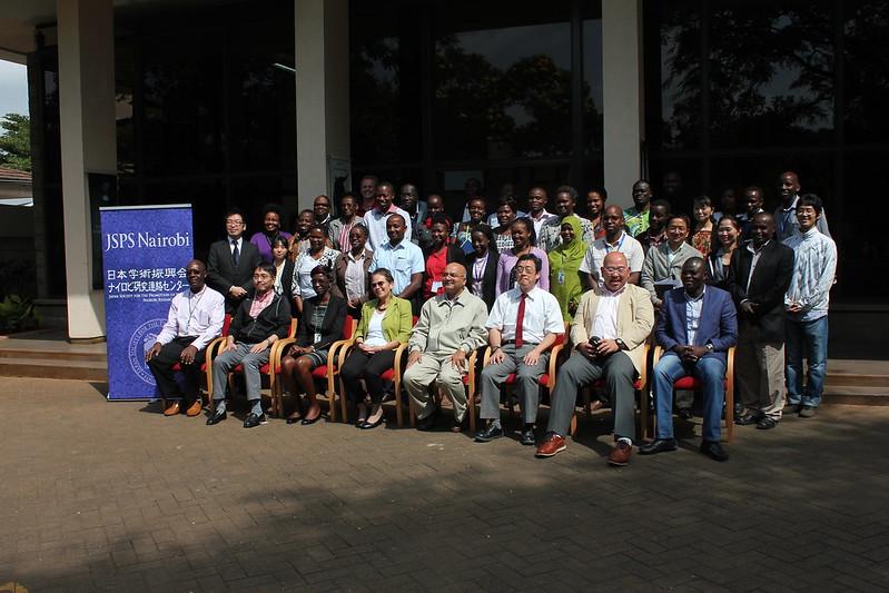 Group photo of participants of the BecA-ILRI Hub/JSPS Symposium in Nairobi 16 June 2016
