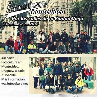 Oficial da 44ª Fotoculura: Montevideo, em 21 de maio de 2016