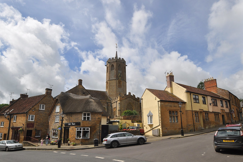 South Petherton wide angle - church