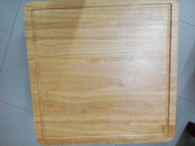 Thớt gỗ hình vuông
