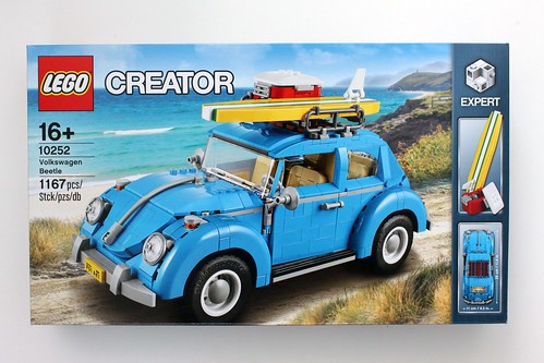 lego creator volkswagen beetle 10252 review the brick fan. Black Bedroom Furniture Sets. Home Design Ideas