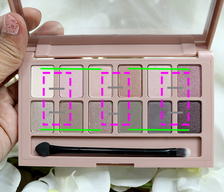 4 Maybelline Blushed Nudes Swatches Review - Gen-zel.com(c)