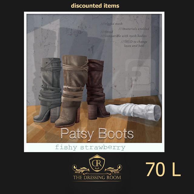 Patsy Boots at TDR