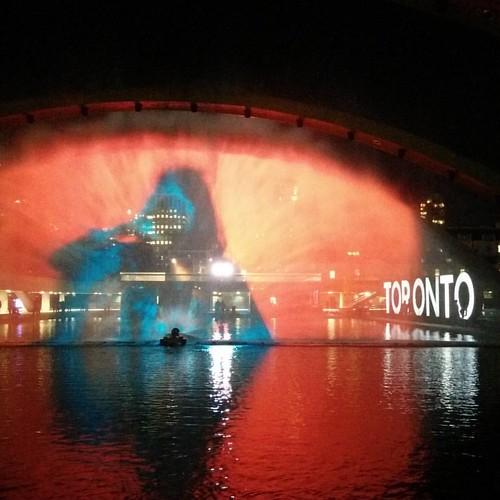 From Pneuma, 2 #toronto #torontocityhall #nathanphilipssquare #nuitblanche #floriasigismondi #pneuma