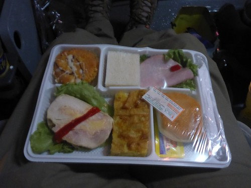 Meal on the bus