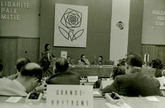 Reunión de juventudes en el socialismo