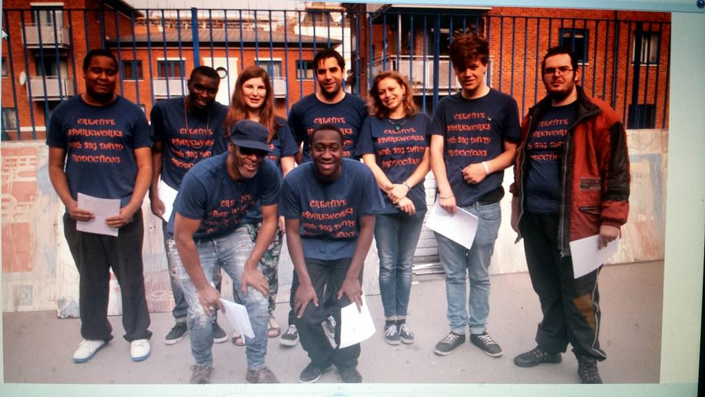 Creative Sparkworks Yputh Film Production Unit September 2014