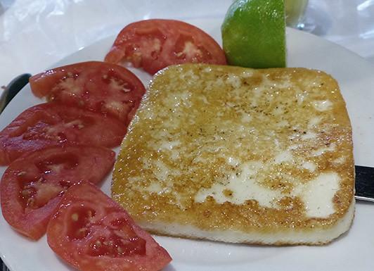 saganaki  et tomates