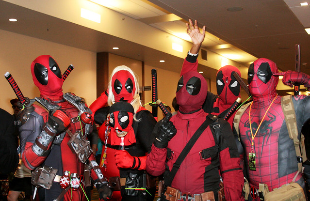 DeadPool and Friends Cosplay Photo by Sherrie Thai of Shaireproductions