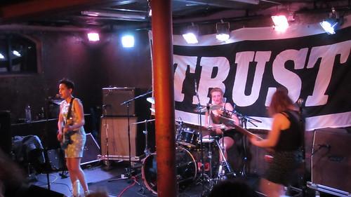 Decibelles auf Trust Festival