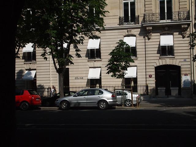 P5281821 Celine(セリーヌ) シャンゼリゼ大通り L'Avenue des Champs-Élysées パリ フランス paris france