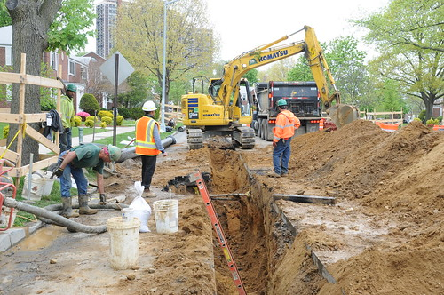 Glen Oaks Sewer and Water Main Upgrade