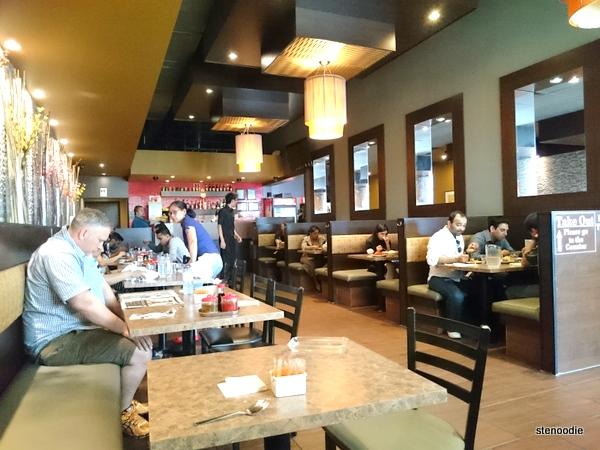 Tangerine Asian Cuisine interior