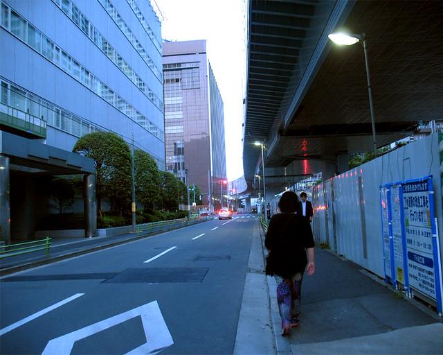 Evening in Tokyo