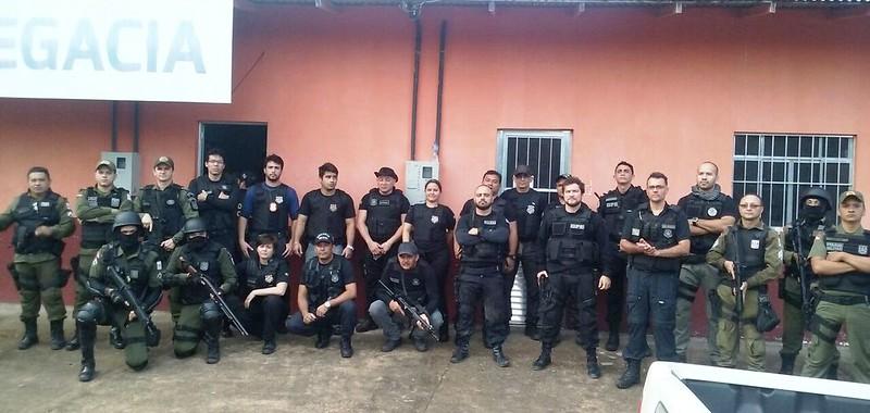 Operação conjunta da PM e Civil prende 10 acusados de tráfico de drogas na Calha Norte