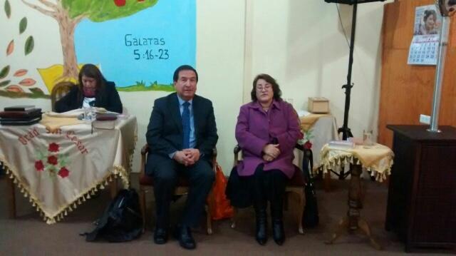 Lenga y Dichato adoran a Dios en fraterna reunión