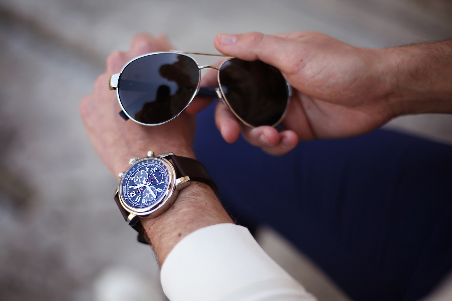 filippo-cirulli_menswear-influencer_chopard-mille-miglia-watch_tom-ford-shirt