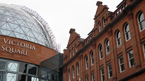 Victoria Square: A Belfast Mall that is listed as an Architectural Tourist site
