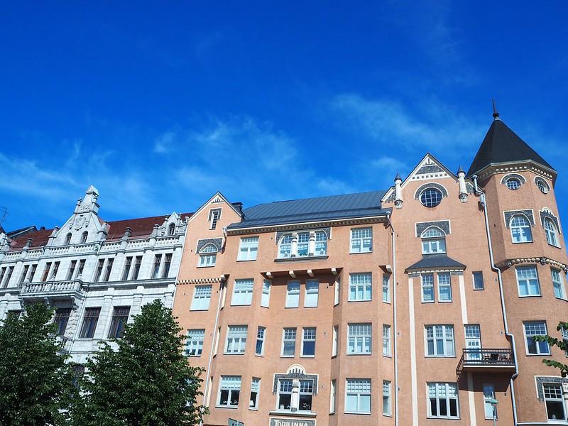 hkiP7018332, helsinki, suomi, finland, summer, kesä, aurinko, sun, rakennukset, buildings,