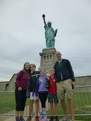 Wachs at Lady Liberty