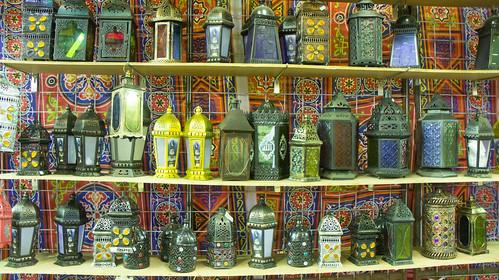 Chinese Ramadan lanterns