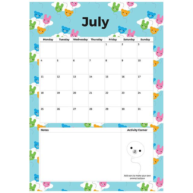 Free July Printable Planner