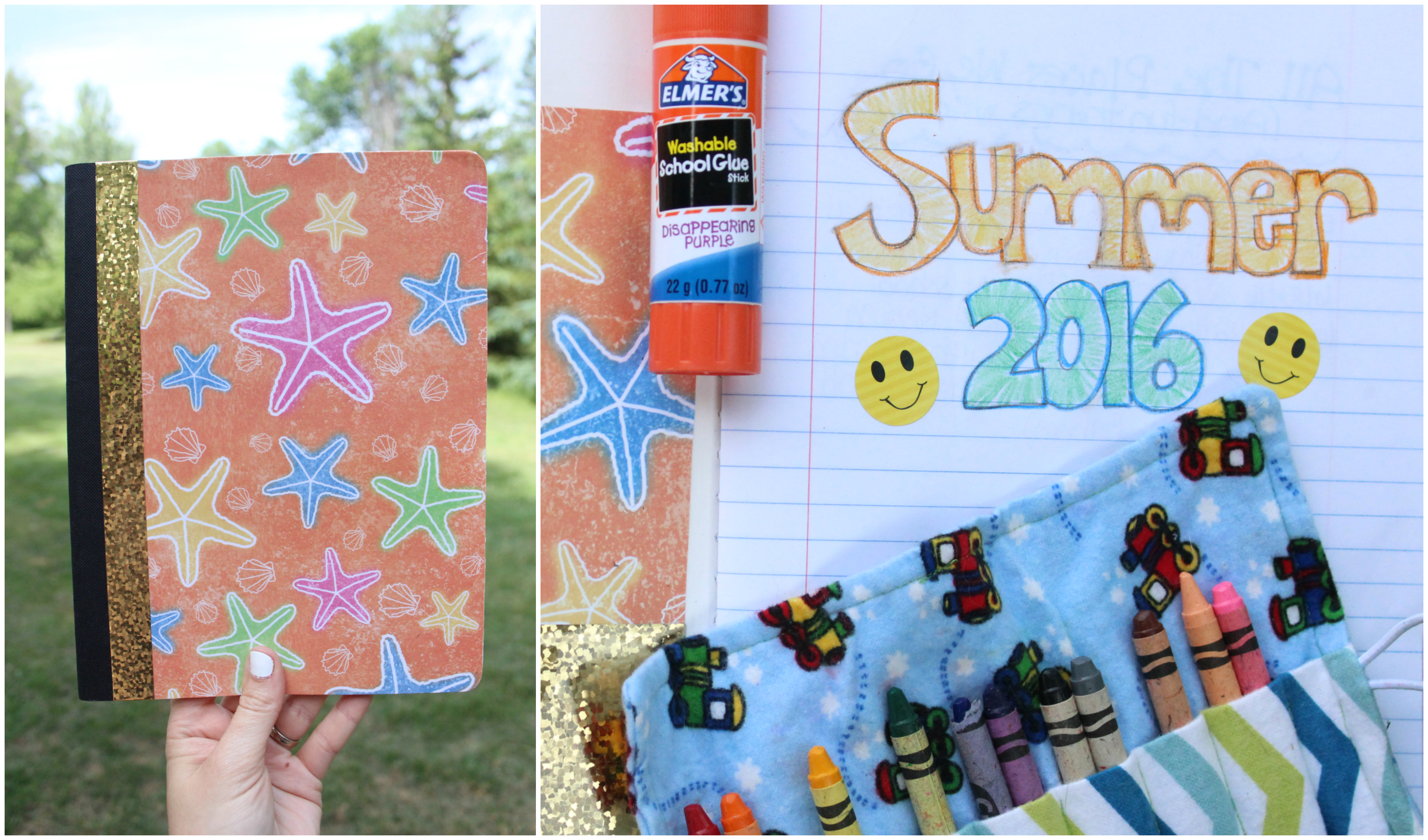 Keeping a Summer Journal as a simple, inexpensive scrapbook will preserve priceless memories for years to come