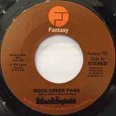 BLACKBYRDS:ROCK CREEK PARK(LABEL SIDE-A)