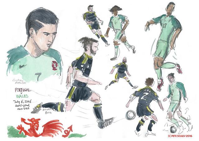 Euro 2016 WAL-POR