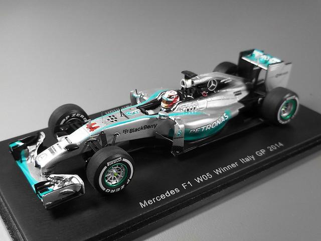 Mercedes F1 W05 Winner Italy GP (Lewis Hamilton) 2014