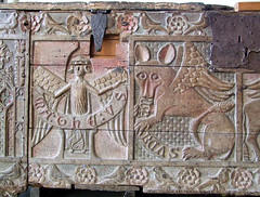 14th Century chest: St Matthew and St Mark