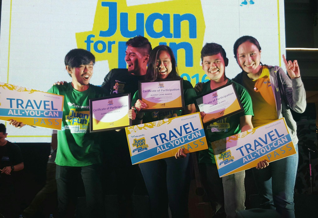 Cebu Pacific: Juan for Fun winner 2016