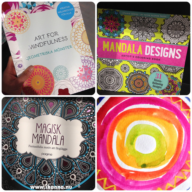 Spotted Coloring books for mandalas