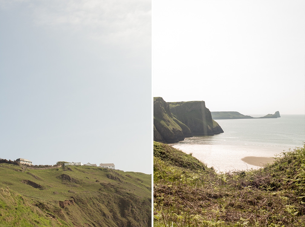 Rhossili Bay Cliffs 8