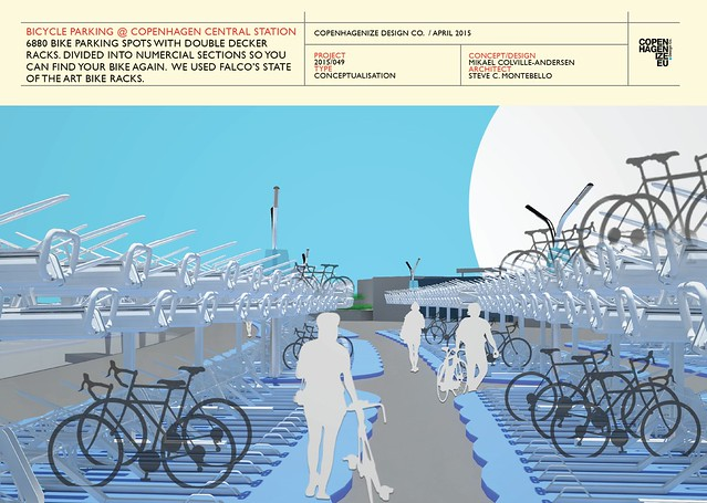 Copenhagenize Design Co. - Bike Parking at Central Station