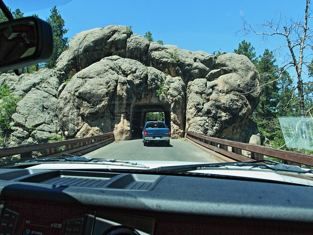 Tunnel on Needles Highway 20160617