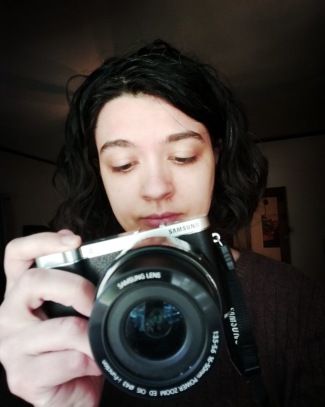 124. What represents me. I'm always hiding behind a camera, but I'm uninspired this past week and looking forward to feeling like myself again.