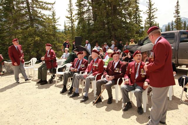 June 6, 2016 - 1st Canadian Parachute Memorial Siffleur Falls