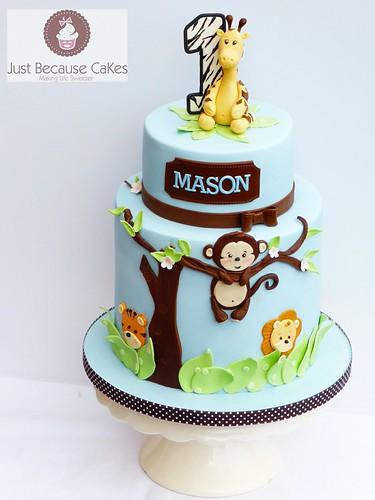 Monkey Birthday Cake Photos