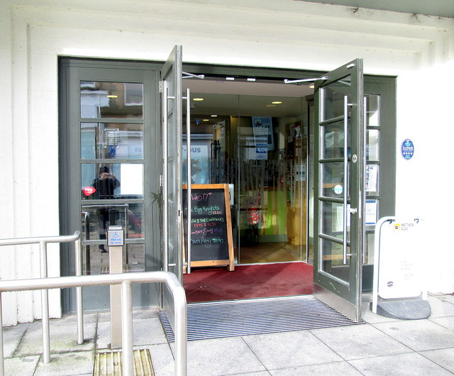 The Birks Cinema, Aberfeldy, Entrance