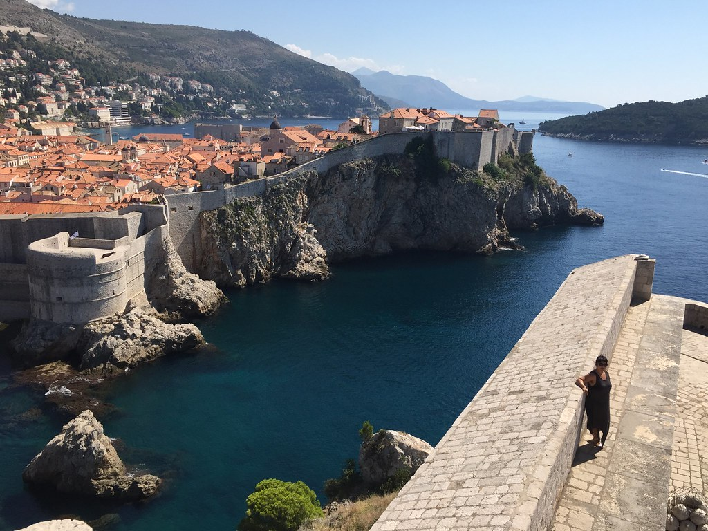Dubrovnik Croatia Game of Thrones location Fort Lovrijenac
