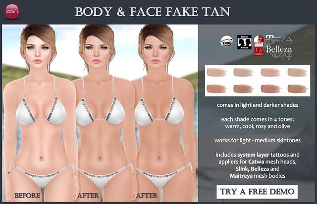 Fake Tan (for FLF)